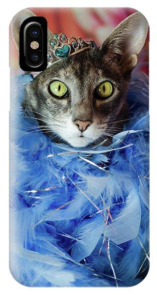 Princess Cat IPhone Case