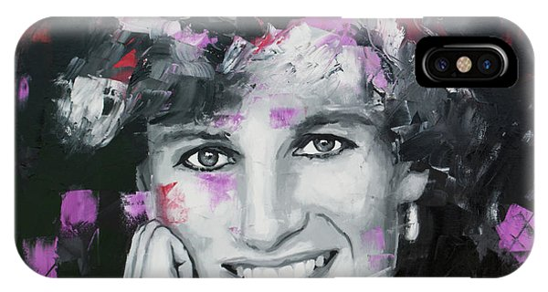 Different iPhone Case - Princess Diana by Richard Day