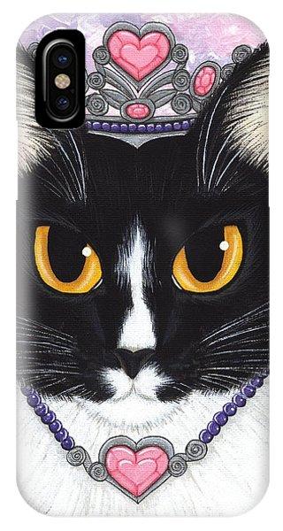 Princess Fiona -tuxedo Cat IPhone Case