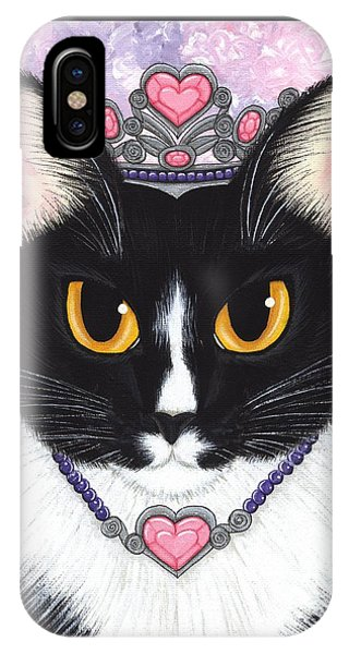 Princess Fiona -tuxedo Cat IPhone Case
