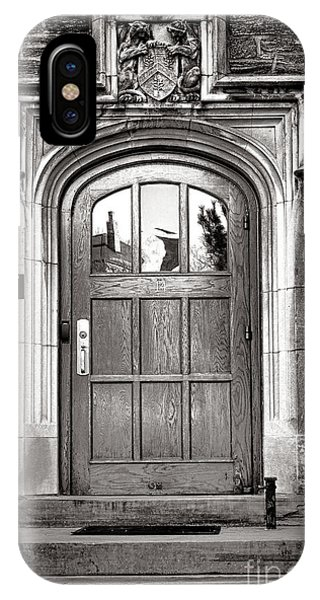 Princeton University Little Hall Entry Door IPhone Case
