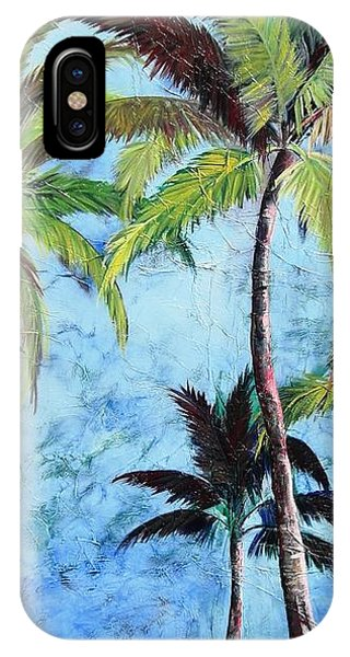 Princeville Palms  IPhone Case