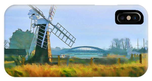 Priory Windmill IPhone Case