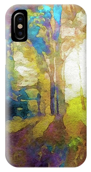 Prismatic Forest IPhone Case