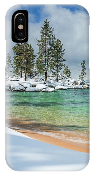 Pristine Shores By Brad Scott IPhone Case