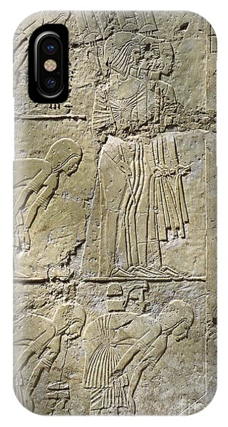 Private Tombs -painting West Wall Tomb Of Ramose T55 - Stock Image - Fine Art Print - Thebes IPhone Case
