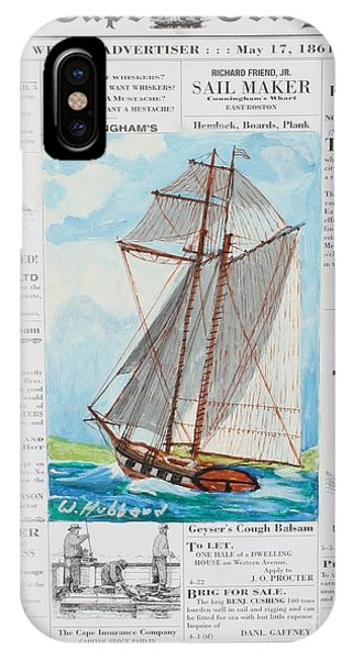 Privateer Off Charleston, Sc IPhone Case