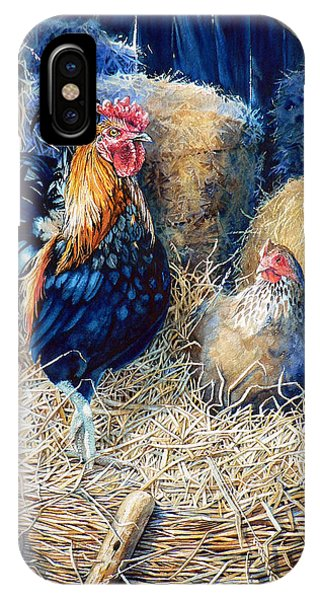 Prized Rooster IPhone Case