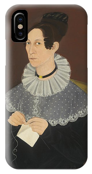 Probably Sarah Cook Arnold Knitting IPhone Case