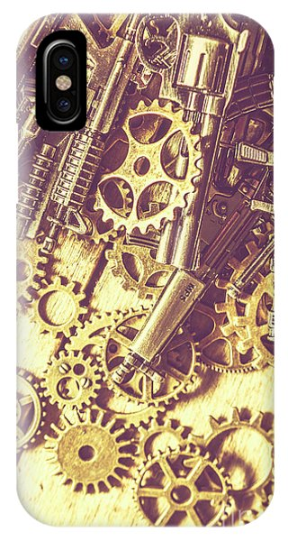 Object iPhone Case - Process Of Strategic Battle by Jorgo Photography - Wall Art Gallery