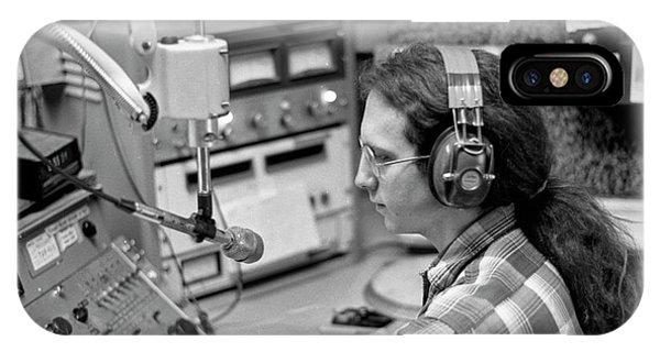 Progressive Rock Disc Jockey, 1975 IPhone Case