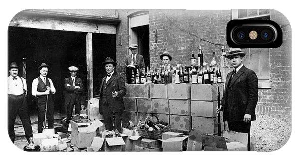 Prohibition, 1922 IPhone Case