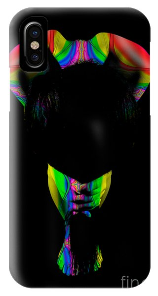 Projected Body Paint 2094999b IPhone Case