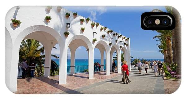 Promenade In Nerja IPhone Case