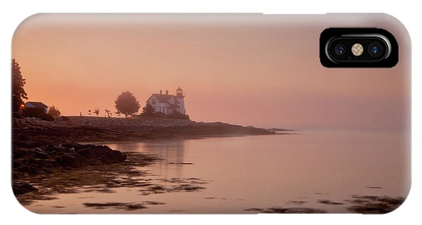 Prospect Harbor Dawn IPhone Case