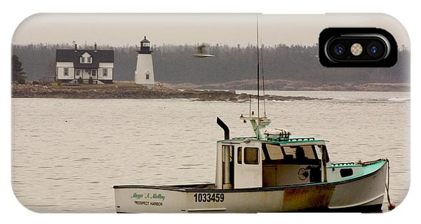 Prospect Harbor Lighthouse IPhone Case