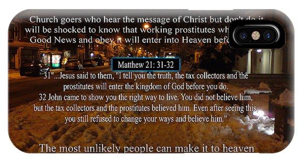 Prostitutes In Heaven IPhone Case