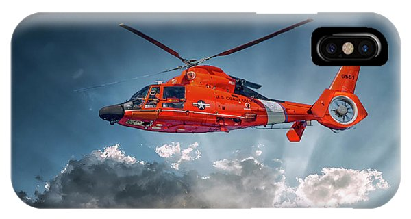 Protecting The Coast IPhone Case