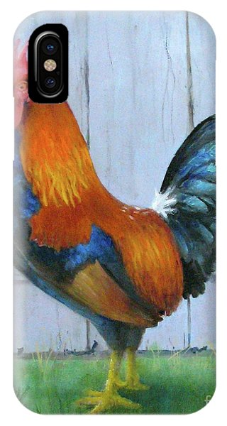 Proud Rooster IPhone Case