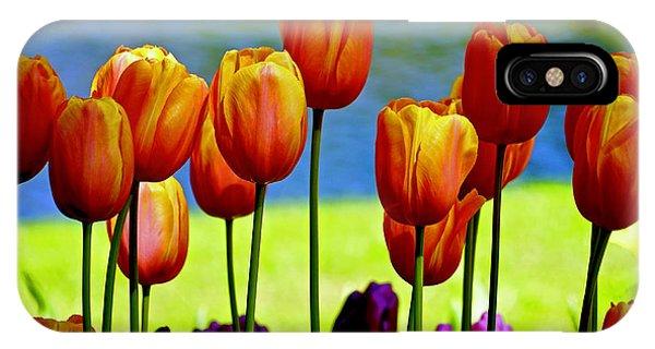 Proud Tulips IPhone Case