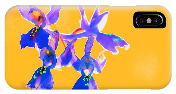 Orange Provence Orchid  IPhone Case