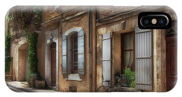 Provence Street Scene IPhone Case