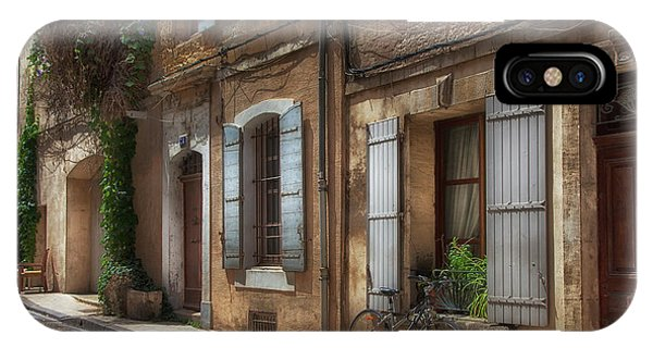Provence Street Scene IPhone Case