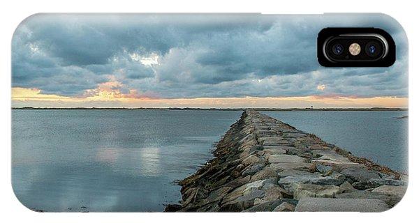 Provincetown Breakwater #3 IPhone Case