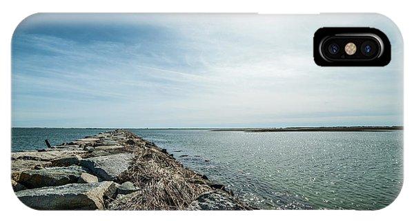 Provincetown Breakwater IPhone Case