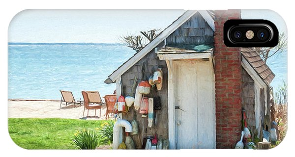 Provincetown Shed IPhone Case