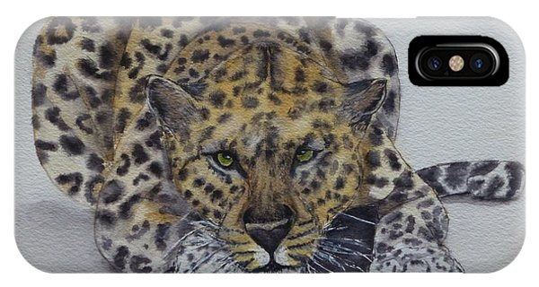Prowling Leopard IPhone Case