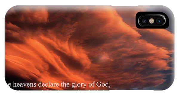 Psalm 19-1 IPhone Case