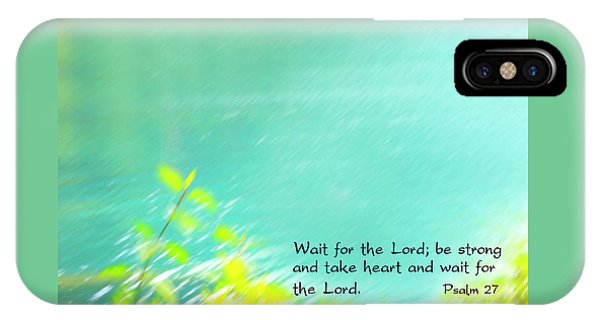 Psalm 27 IPhone Case
