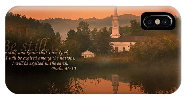 Psalm 46.10 IPhone Case