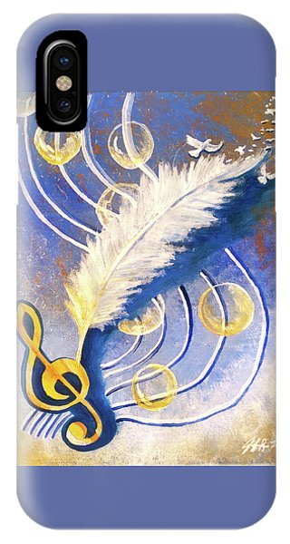 IPhone Case featuring the painting Psalmist by Jennifer Page