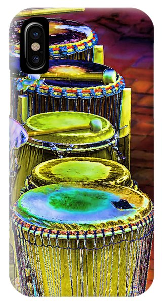 Psychedelic Drums IPhone Case