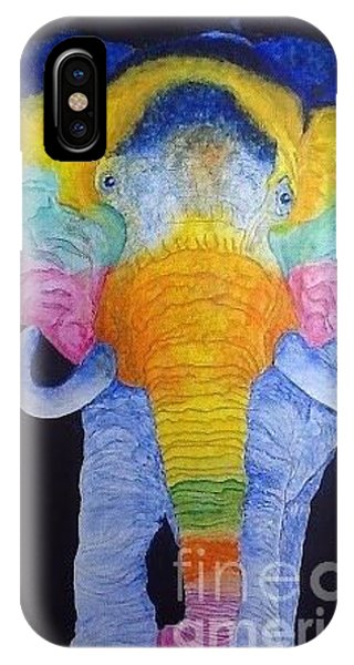 Psychedelic Elephant  IPhone Case