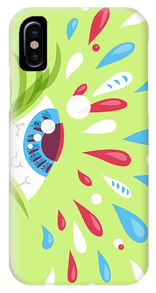 Psychedelic Eye IPhone Case