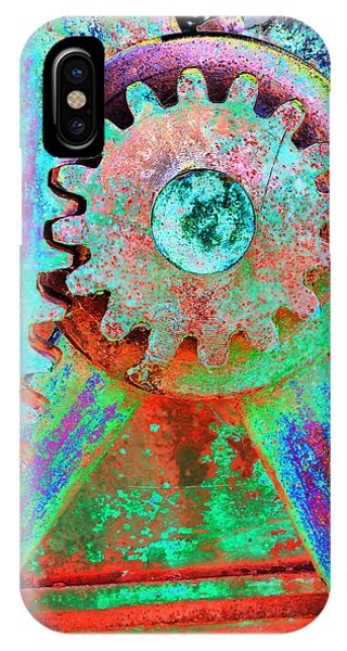 Psychedelic Gears IPhone Case