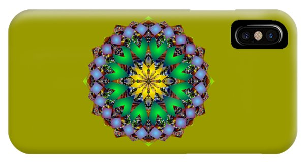 Psychedelic Mandala 003 A IPhone Case