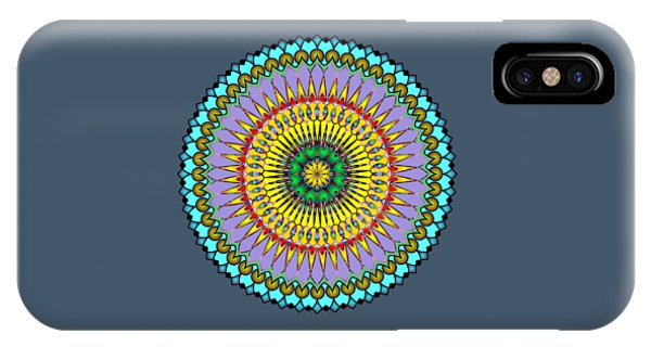 Psychedelic Mandala 005 A IPhone Case