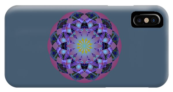 Psychedelic Mandala 006 A IPhone Case