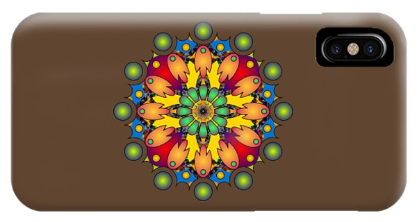 Psychedelic Mandala 009 A IPhone Case