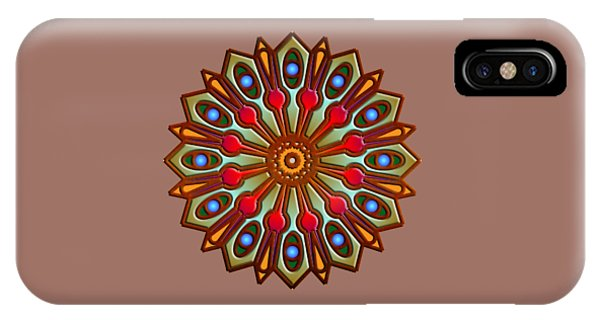 Psychedelic Mandala 012 A IPhone Case