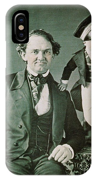 Barnum And Bailey iPhone Case - P.t. Barnum, American Showman by Photo Researchers