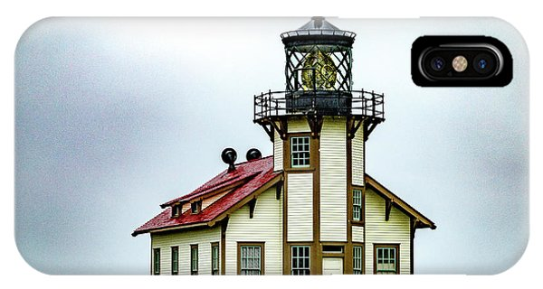 Navigation iPhone Case - Pt Cabrillo Light Station by Bill Gallagher
