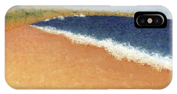 Pt. Reyes Beach IPhone Case