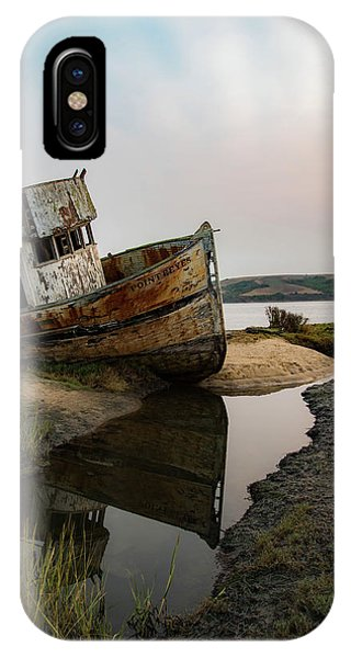 Pt. Reyes Shipwreck 4 IPhone Case