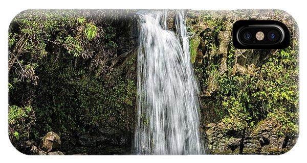 IPhone Case featuring the photograph Pua'a Ka'a Falls by Jim Thompson