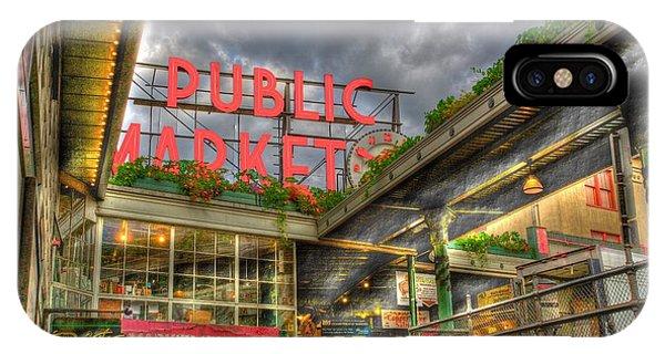 Public Market IPhone Case